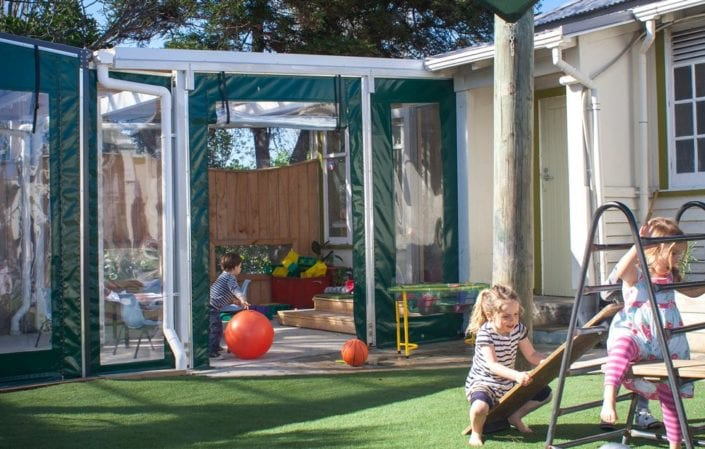 PolyHigh outdoor play area